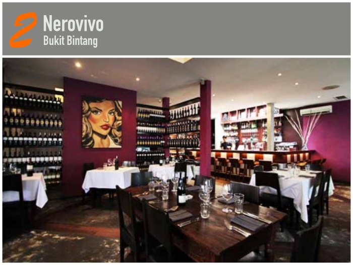 Nerovivo Has Become A Prime Kl Landmark For An Exceptional Italian Casual Dining Experience With Cool Ambiance Modern Stylish Whether You Re Al