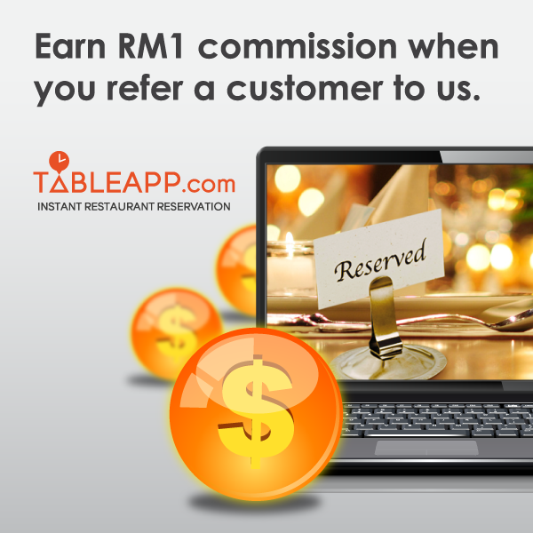 Want to earn money easily with your website or blog? Join TABLEAPP affiliate program now!