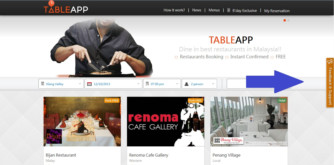 Find out any problem with TABLEAPP? 3 steps to give your feedback to us