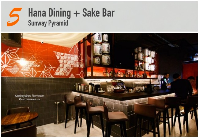 5 Best Japanese Bars in KL_Hana Dining
