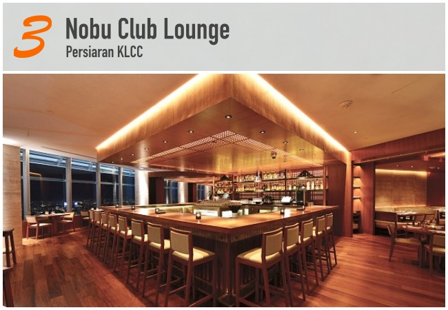 5 Best Japanese Bars in KL_Nobu Club Lounge
