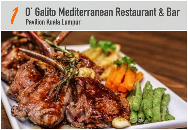 5 Best Mediterranean Restaurants in KL_OGalito
