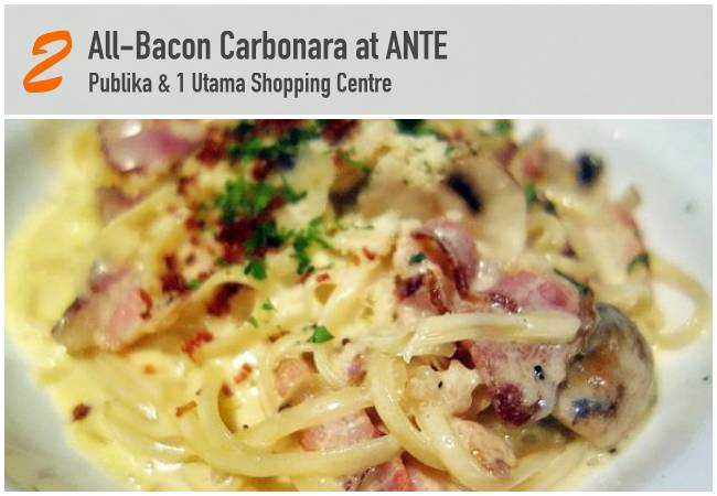 5 Best Bacon Dishes in KL_ANTE