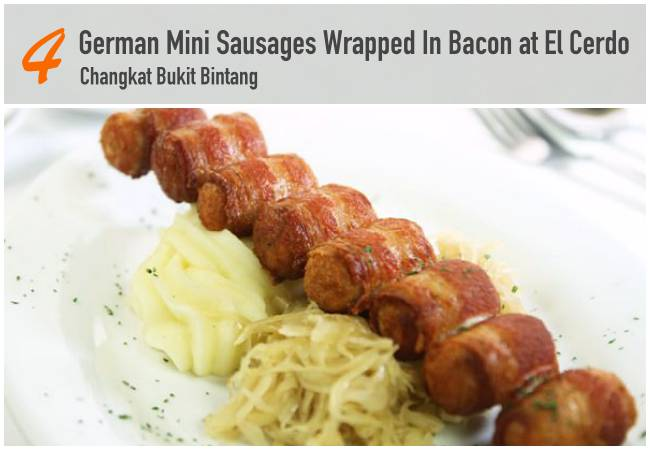 5 Best Bacon Dishes in KL_ElCerdo