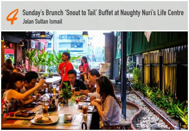 5 Best Sunday Brunches in KL_NaughtyNuris