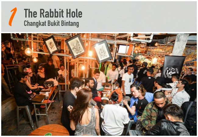 5 Best Beer Bars in KL_The Rabbit Hole