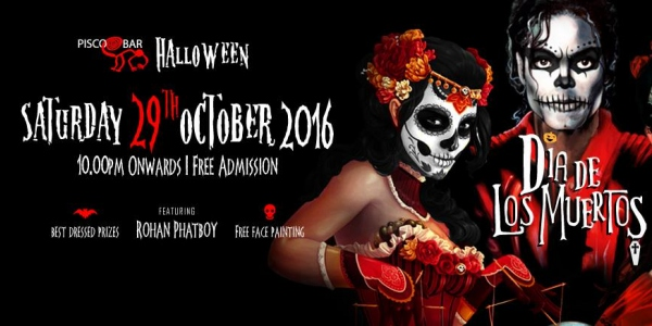 Halloween 2016 Pisco Bar