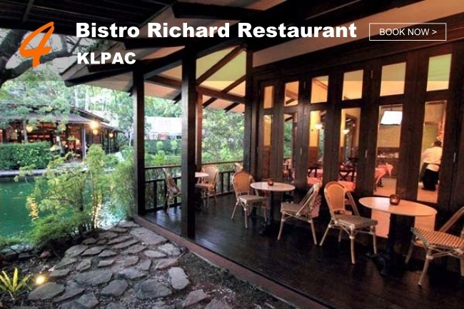 5 Best Restaurants in KL with Peaceful Greenery_Bistro Richard Restaurant