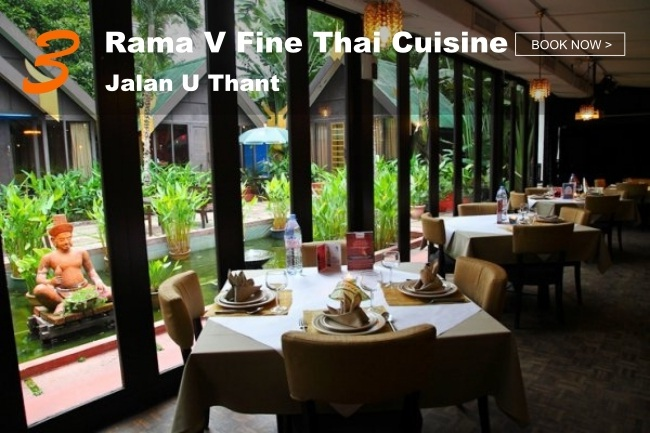 5 Best Restaurants in KL with Peaceful Greenery_Rama V Fine Thai Cuisine