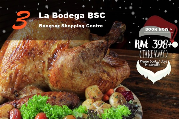 10 Best Christmas Menus to Try in KL_LaBodegaBSC