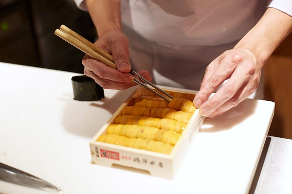 5 Best Restaurants for Sea Urchin (Uni) Dishes in KL_Sushi Azabu