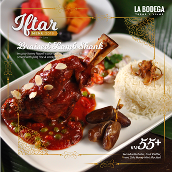 Click here to view La Bodega's Ramadan Menu