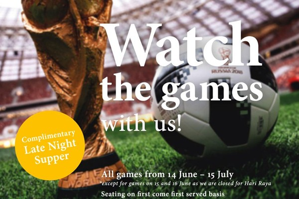 Click here to view Promotions at Leonardo's Dining Room and Wine Loft During FIFA World Cup 2018