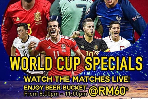 Click here to view Promotions at Pier 12 Seafood Tavern during FIFA World Cup 2018