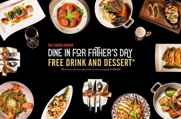Click here to view Father's Day Promo at The Eighth Avenue