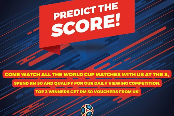 Click here to view World Cup's Promotions at The X