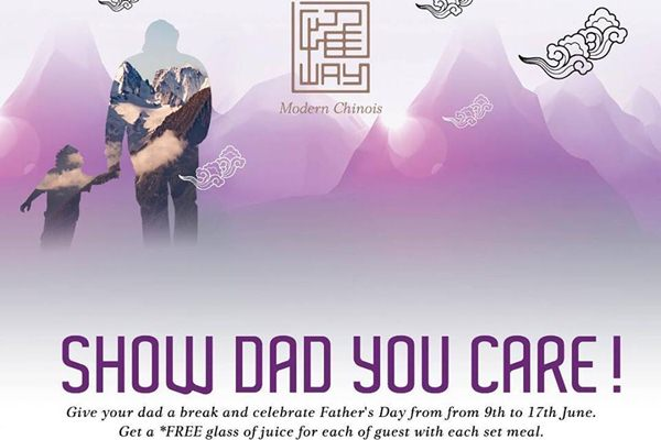 Click here to view Father's Day Promo at Way Modern Chinois