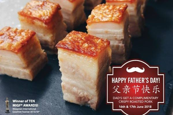 Click here to view Father's Day Promo at Yezi at The Roof