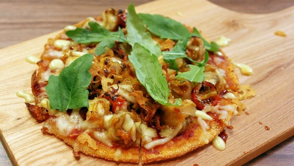 Click here to view Kouzu's Japanese Escargot Pizza