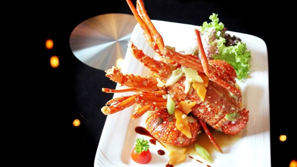Click to view Baked Lobster with Superior Stock at One Seafood Restaurant