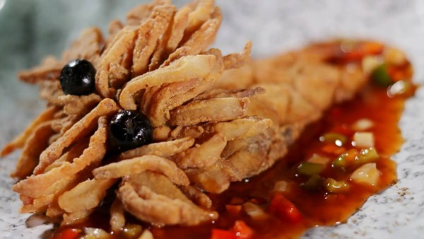 Click here to view the Crispy Lion Fish at Way Modern Chinois