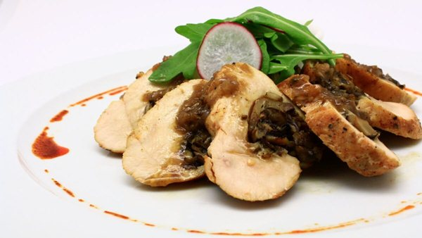 Click Here To View Chicken Roulade With Mushroom