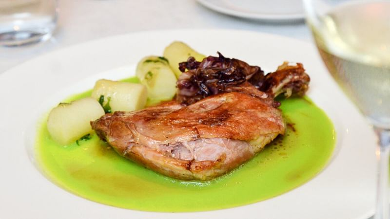 View Duck Confit at Two-Ox French Bistro Bar