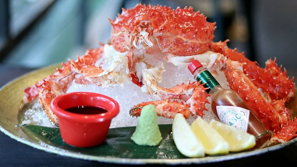 Click Here To View Free King Crab Served Cold at Black Market