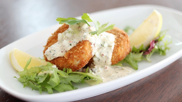 Click Here To View Snapper Cakes at Chambers Grill