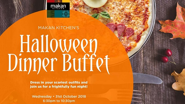Click Here To View Halloween Dinner Buffet at Makan Kitchen's, DoubleTree by Hilton Johor Bahru