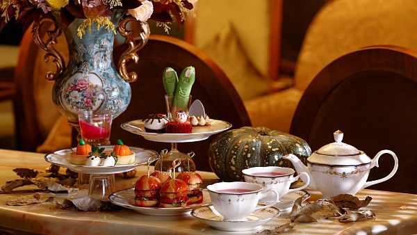 Click Here To View Tea Time for Halloween at Newens Tea House