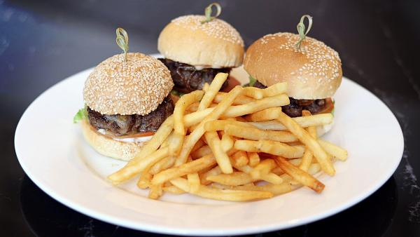 Click Here To View 3 Grilled Mini Cheese Sliders at Pavilions Lounge