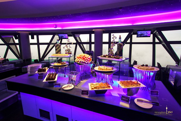 Click here to view Christmas Buffet Dinner at Atmosphere 360 Revolving Restaurant, KL Tower