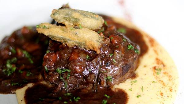 Click here to view Braised Beef Cheeks at Vineria.IT