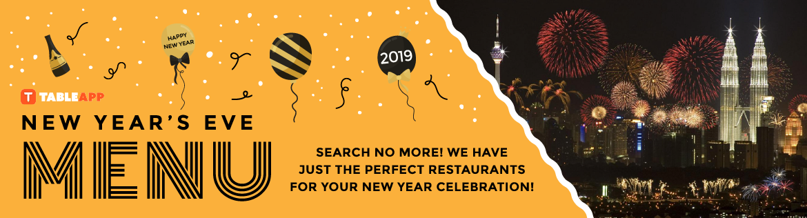 Click here to view all New Year's Eve Menu