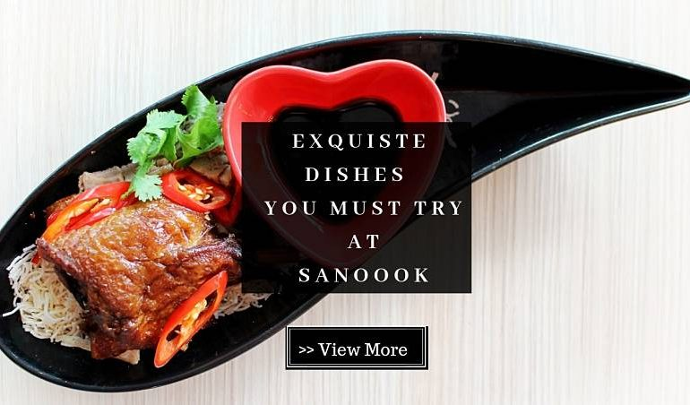 Click here to view Sanoook's Free Signature Dishes
