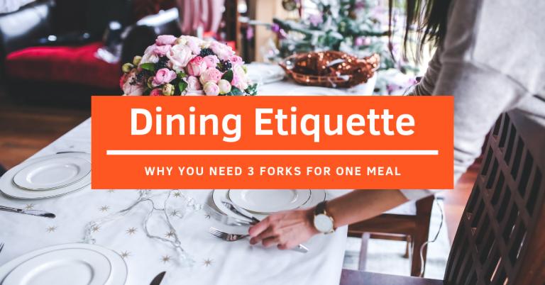 Blog - Dining Etiquette