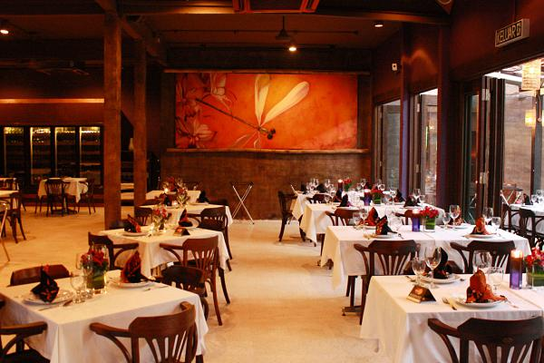 Click here to view romantic Valentine's dinner at Bijan Bar & Restaurant