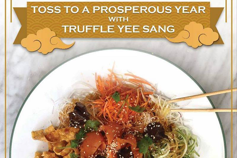 Click here to view BLVD's Yee Sang Menu