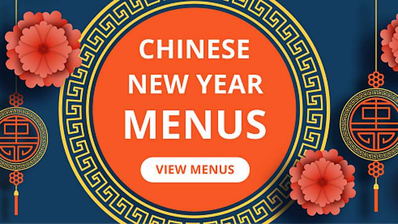 Chinese New Year Menu 2019