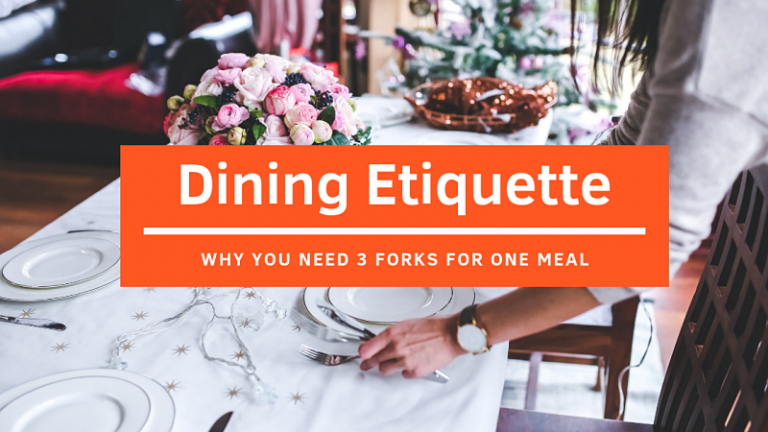 Click here to view Dining Etiquette for Fine Dining