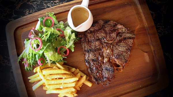 Click here to view Mezze Bar & Bistro's French Rib Eye