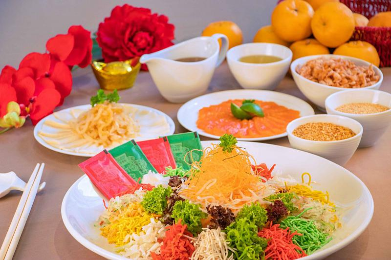 Click here to view Yee Sang menu at Horizon Grill