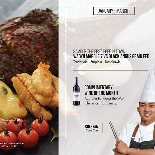 Click herr to view Beef & Wine Promo at La Cucina