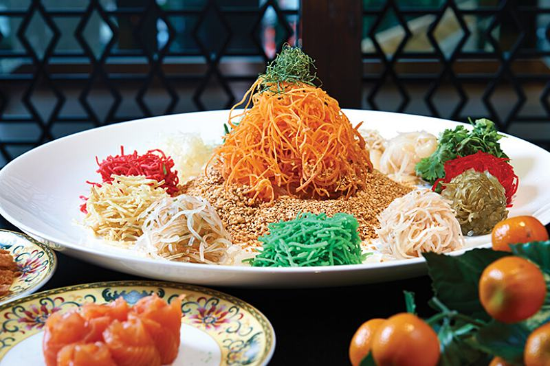 Click here to view Lai Ching Yuen's Yee Sang Menu