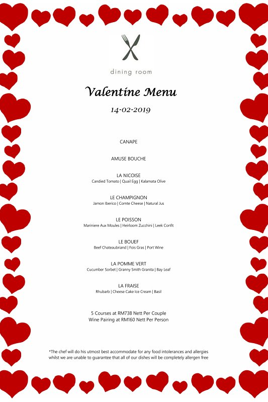 Click here to view Valentine's Menu at Macalister Mansion Dining Room