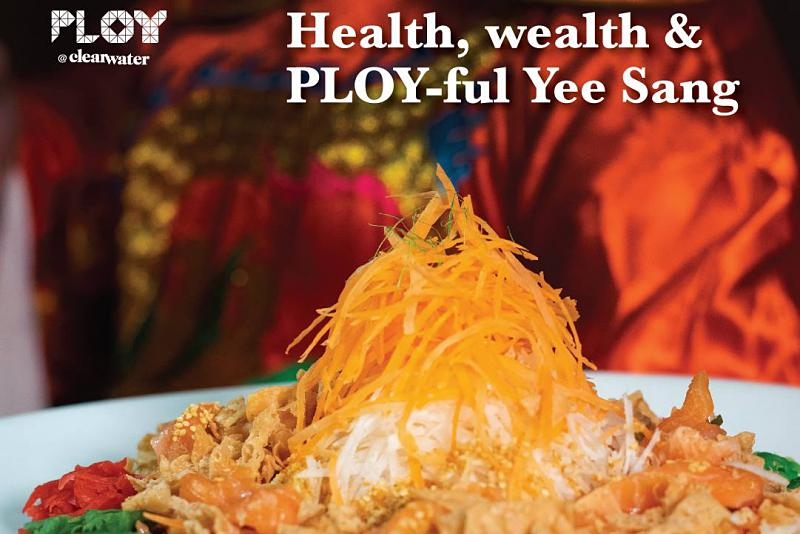 Click here to view PLOY's Yee Sang Menu