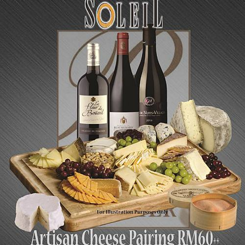 Click here to view Cheese Pairing at Soleil