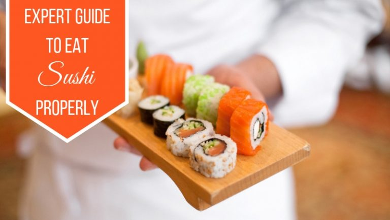 Click here to view the way to eat sushi shared by world-renowned chef Nobu