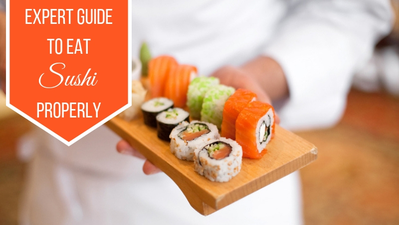 [Jan 07 – 13] Weekly Reads: Expert Guide on Eating Sushi Properly